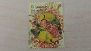 新加坡郵票-兩款
