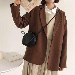 Casual Brown Blazer size 6-10