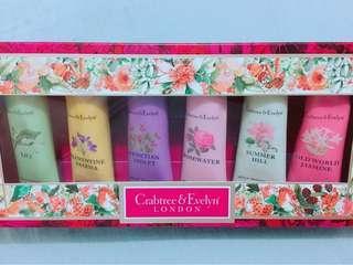 Crabtree & Evelyn hand cream set