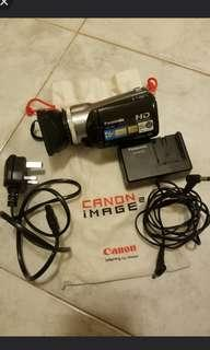 Panasonic digital handicam with charger cable lense core