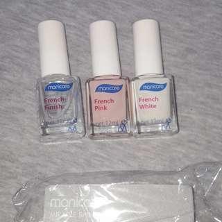 French nail polish