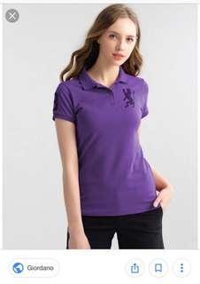 Purple Giordano Polo