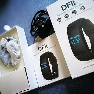 Dfit - Heart rate watch (new at 50% off) - Waterproof