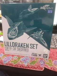 Bandai macross delta lilldraken set for vf-31f siegfried  tamashii web exclusive weapon set in stock