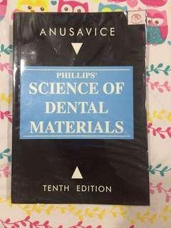 Phillips' Science of Dental Materials 10th Ed.