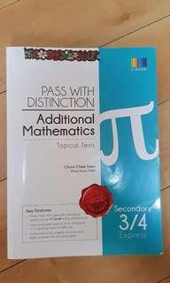 Pass with distinction additional mathematics topical tests secondary 3/4 express