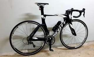 Scott Plasma TT Tri Road Bike Full set or frame
