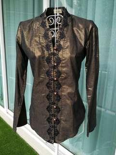 NEW PASSAGES Kebaya Top from Metrojaya