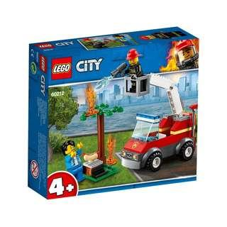 Lego City 60212   Barbecue Burn Out / Lego City 60206   Sky Police Jet Petrol