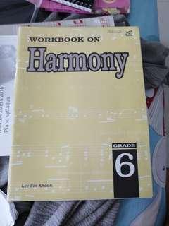 🚚 Grade 6 music theory book workon harmony