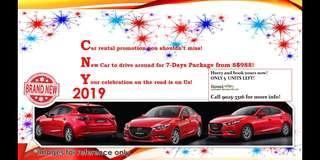 Brand New Mazda for CNY 2019