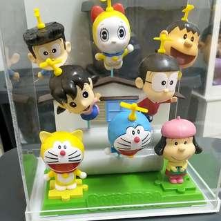 Collection Shell Doraemon & Friends 3D Puzzles One Set of 7 pieces