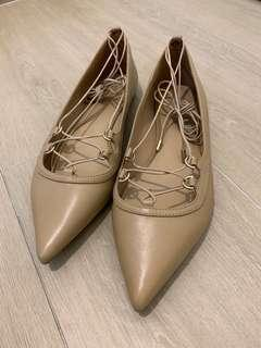 Michael Kors lace up flats