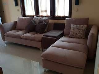 Sofa set L shape