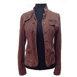 U.S brown jacket