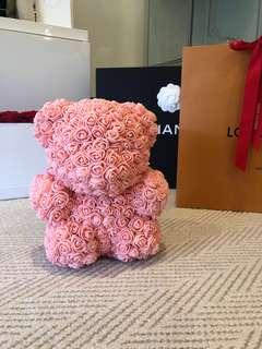 Handmade Gift - Rose Bear