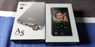 Fiio X5 3rd Generation Music Player & Fiio A5 Head phone AMP Tip Top Condition!!