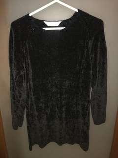 Marks and Spencer Oversized Black Sweater UK10