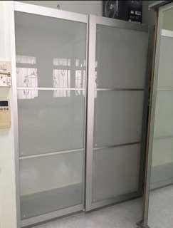 Fast Deal Ikea Glass Cabinet