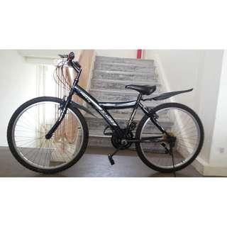 excellent condition bike bicycle with 18 speed gears brand new tyres tubes