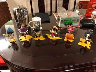 MacDonald One Piece Toys