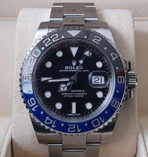 Rolex Batman 116710BLNR