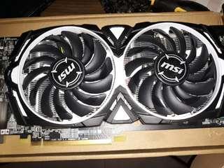 Radeon RX 580 MSI Armor 8GB GDDR5