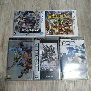 3DS / PSP Games