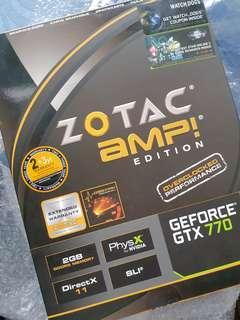 WTS GTX 770 AMP EDITION left 12 mths warranty