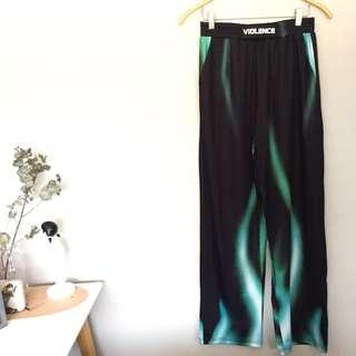 Flame Wide Leg Pants