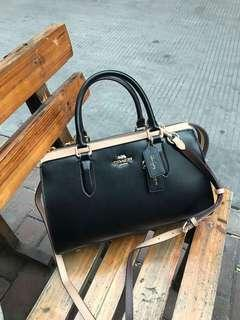 Selena Bond Bag In Colorblock BLACK MULTI..COACH..