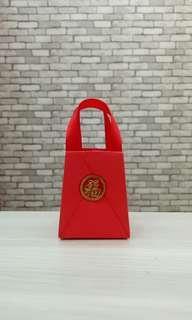 Mini Origami Paper Bag Merah Imlek