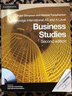 Business Studies second edition