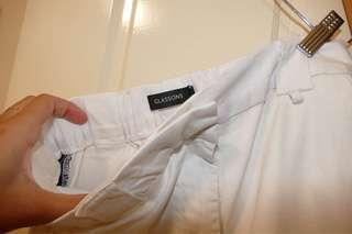 Glassons White baggy Pants
