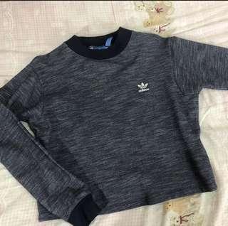 Adidas短版衛衣