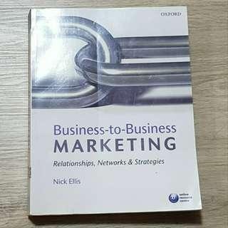 B2B Marketing RMIT - MKTG 1271