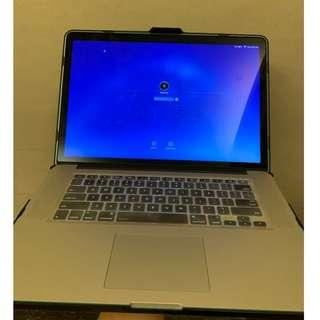 """Macbook Pro 15"""" Mid 2014 i7 RAM16GB SSD"""