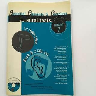 Essential Elements & Exercises for Aural Tests