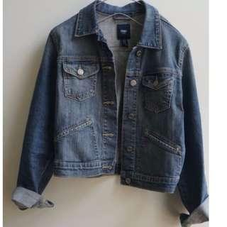 Gap Cropped Denim Jacket
