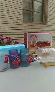 🚚 造型飲料桶和廣口杯