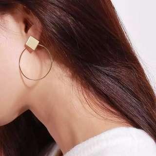 2pack Hoop earrings