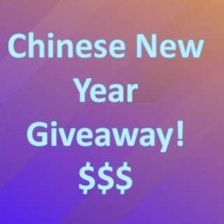 Chinese New Year Giveaway