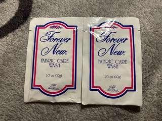 Forever New Fabric Care Wash 手洗胸圍清潔劑旅行裝 10g x 2pcs