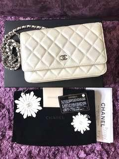 Chanel Pearly Ivory WOC