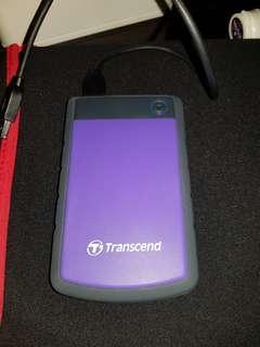 Transcend 1TB StoreJet Shockproof External Hard Drive
