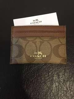 Coach PVC Card Case