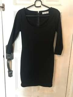 Kitchen Basic Dress Black