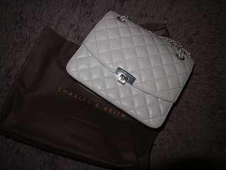Charles and Keith Chain Bag #onlinesale