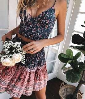 Vanderbilt Crop Top & Skirt Set