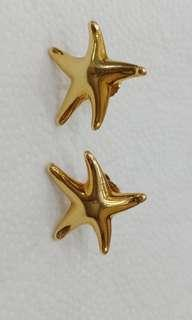 Authentic Tiffany & Co. Star Earrings